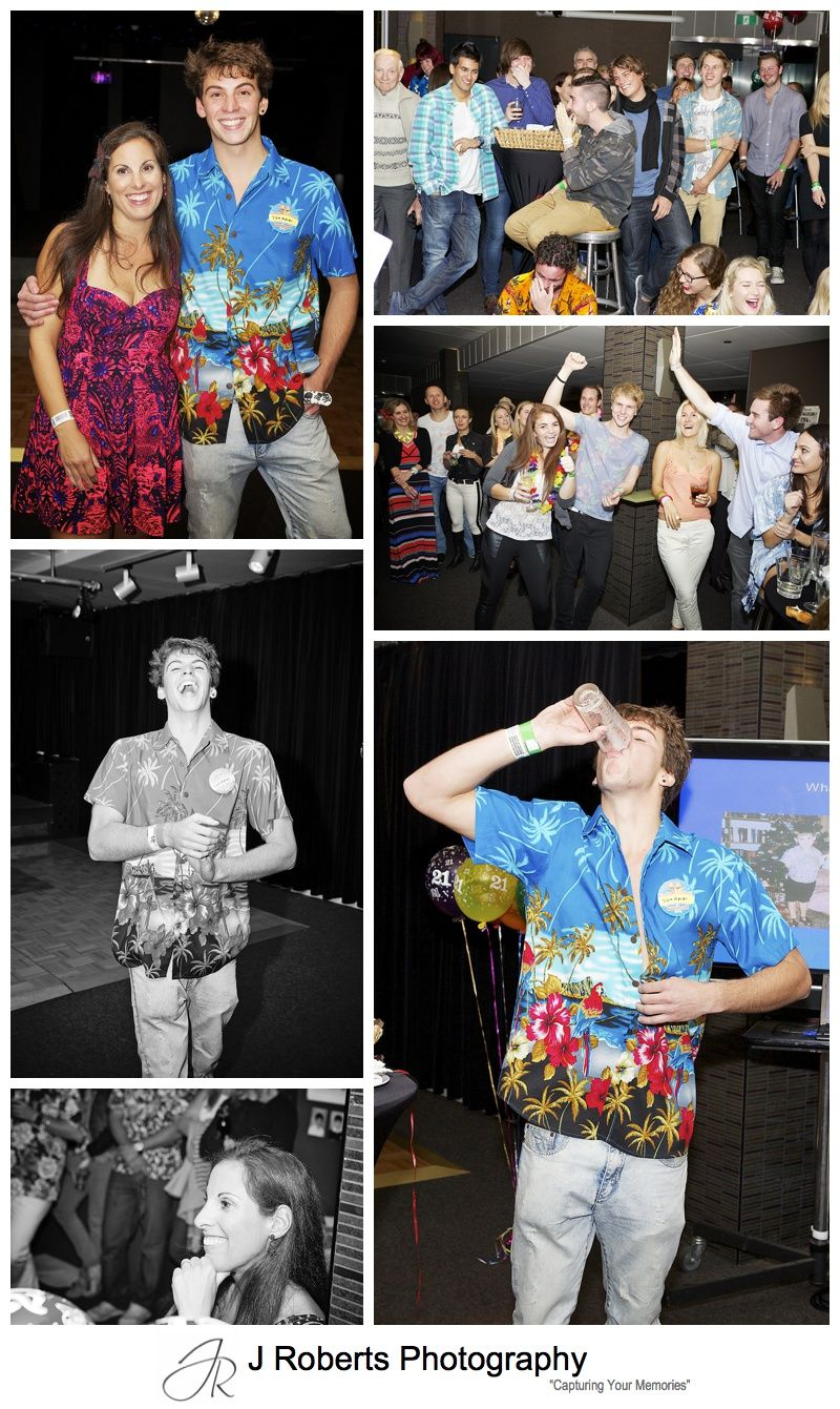 21st Birthday Party Photography Sydney Luna Park Sonar Room