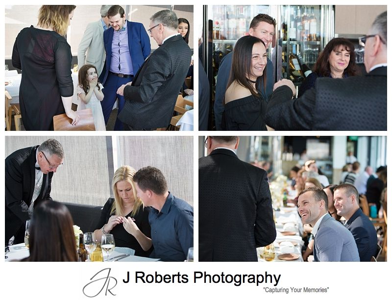 60th Birthday Party Photography Sydney Aqua Dining Milsons Point