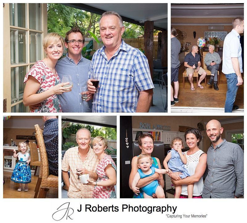 90th Birthday Party Photography Sydney Family Home Roseville
