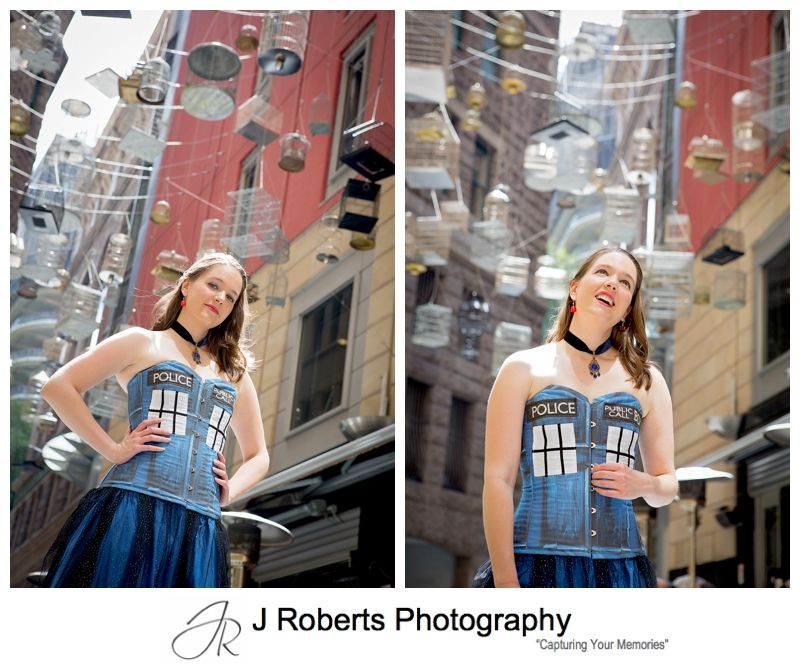 Professional Photography of Actors Portfolio Images For Cabaret Act Fan Girl Doctor Who Fan