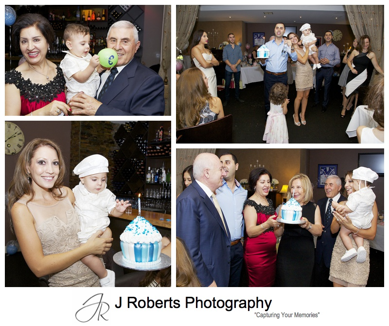 Baby Christening Photography Sydney Our Lady of Lebanon Harris Park and Concerto Restaurant Homebush Bay