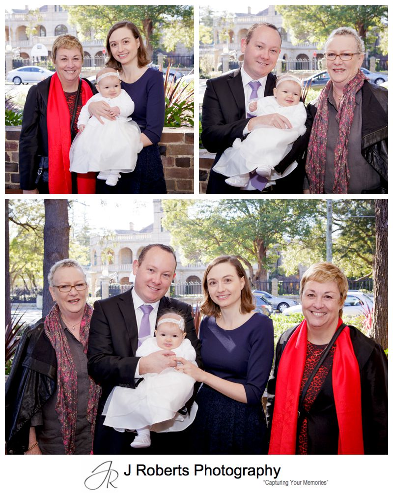 Baby Christening Photography Sydney St Anthony's Church Marsfield