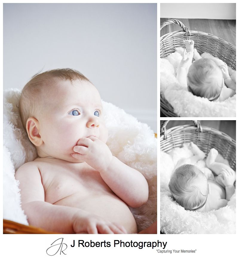 baby portrait photography in the family home sydney