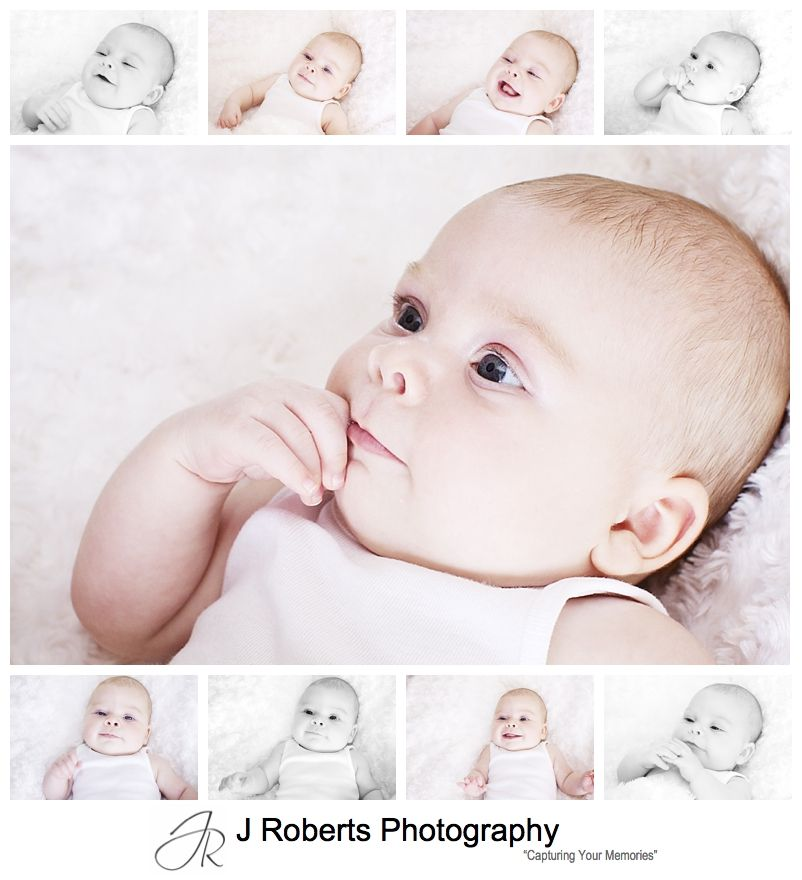 12 week old baby portraits - sydney family portrait photography