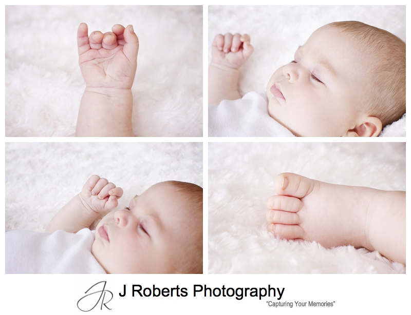 Close up portraits of a baby boy - sydney baby portrait photography