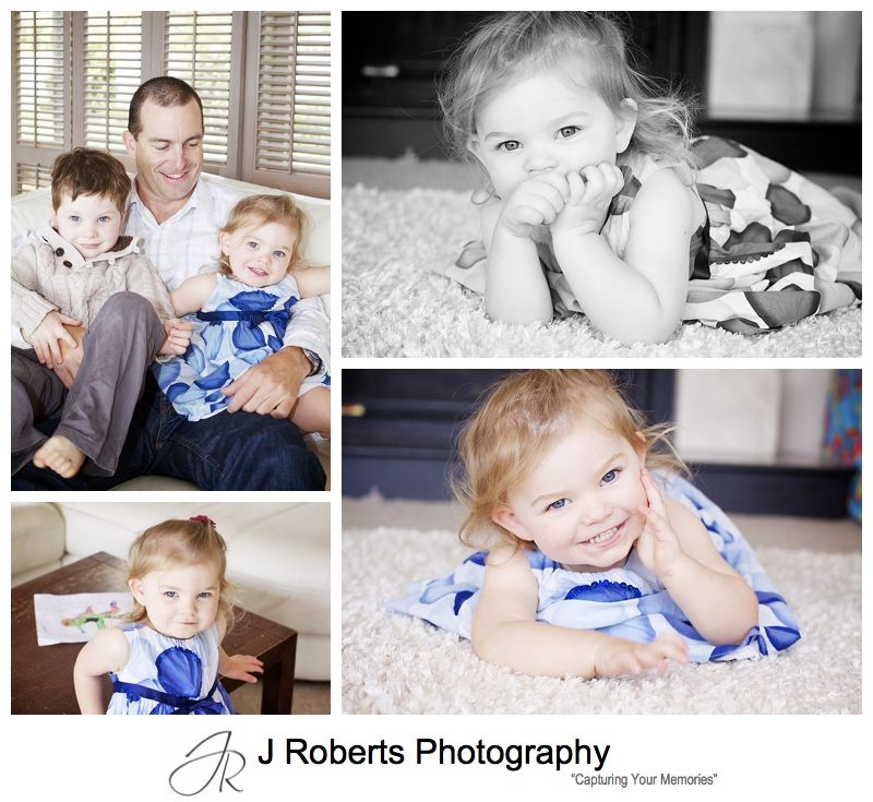 Gorgeous baby girl portraits - sydney family portrait photography