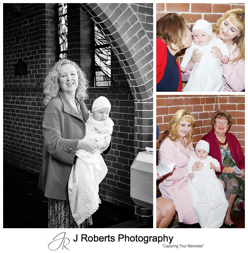 Christening Baptism Photography Sydney St Peters Anglican Church Cremorne and Family Home Cremorne