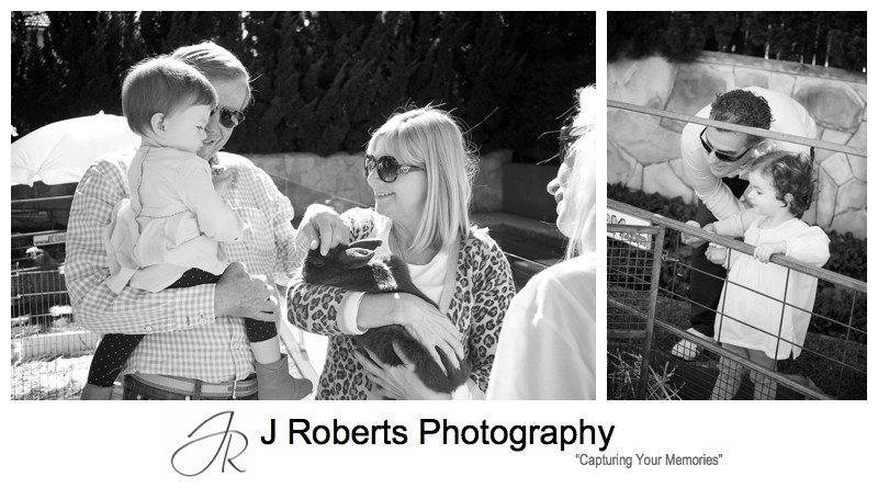 B&W children's birthday party photographs - party photography sydney