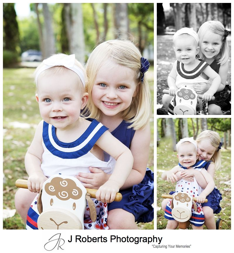 2 little sisters portraits - sydney portrait photography