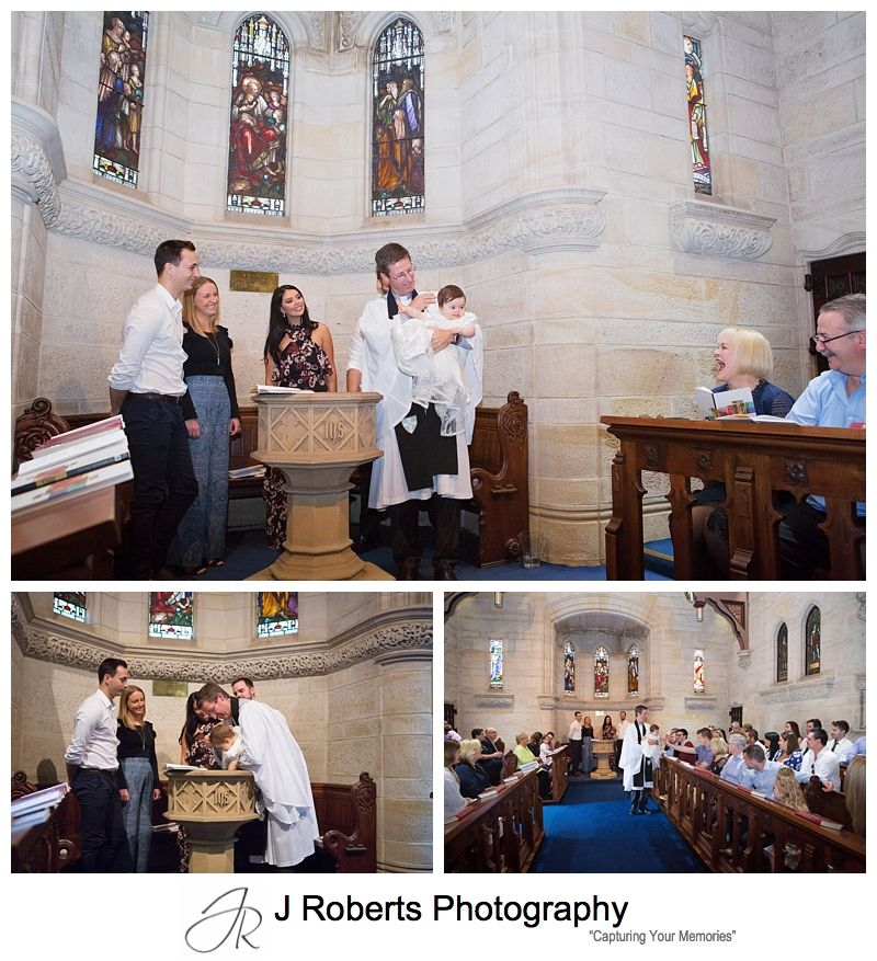 Christening Photography Sydney at Kings School Chapel and Bivianos Dural