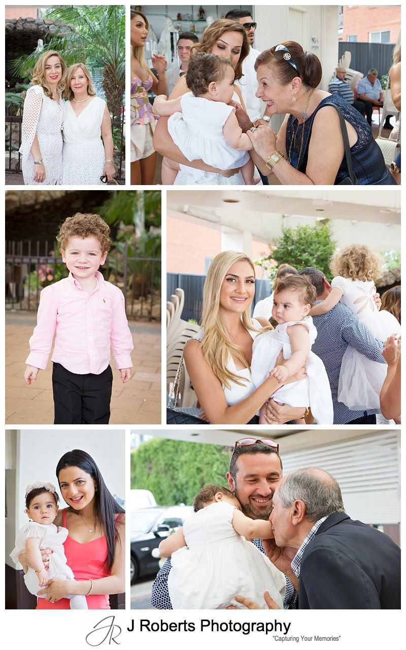 Christening Photography Sydney Our Lady of Lebanon Harris Park and Cucinetta's Woolwich