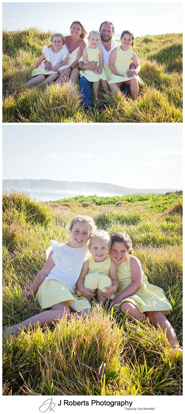 Christmas Family Portrait Mini Sessions at Long Reef Beach Sydney