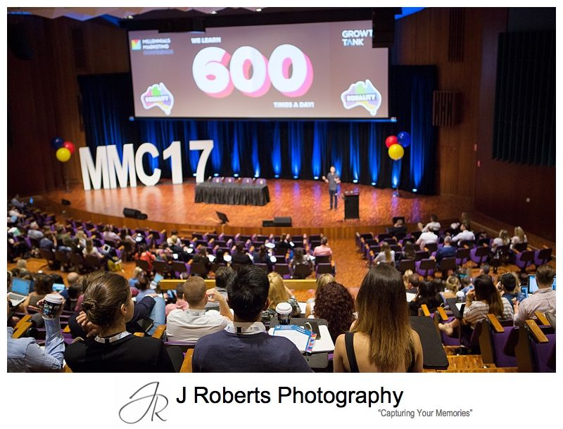 Conference Event Marketing Photography Sydney Marketing to Millenials Conference Sydney 2017 Photography