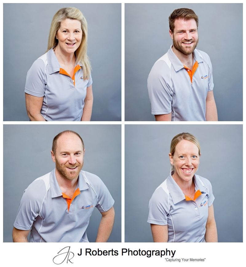 Corporate Business Headshots and Company Conference Event Photography Sydney for Carlile Swimming Operations Managers