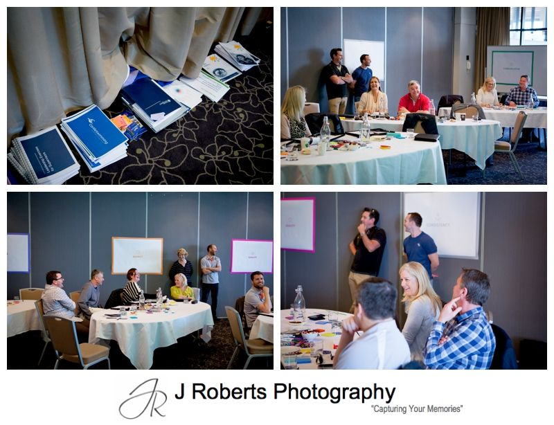 Corporate Business Headshots and Company Conference Event
