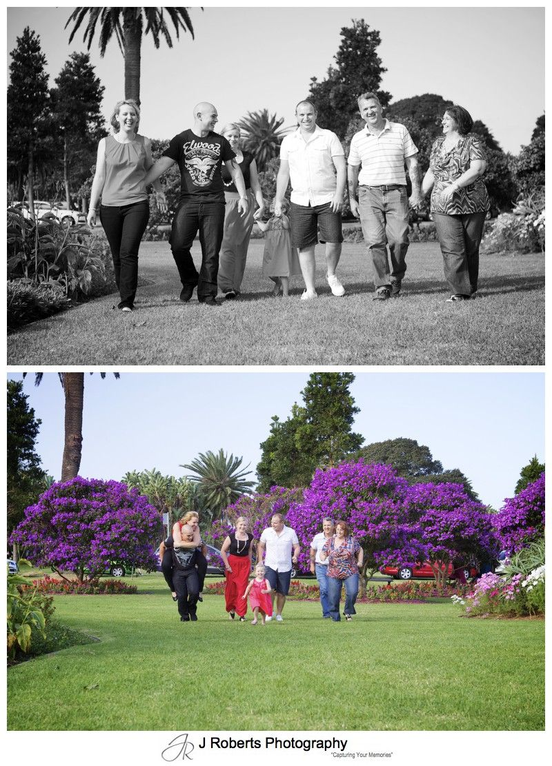 family fun in centennial park - family portrait photography - sydney