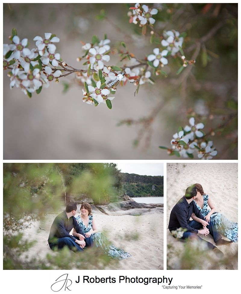 Engagement Couples Portrait Photography Sesson Sydney Chinamans Beach Mosman