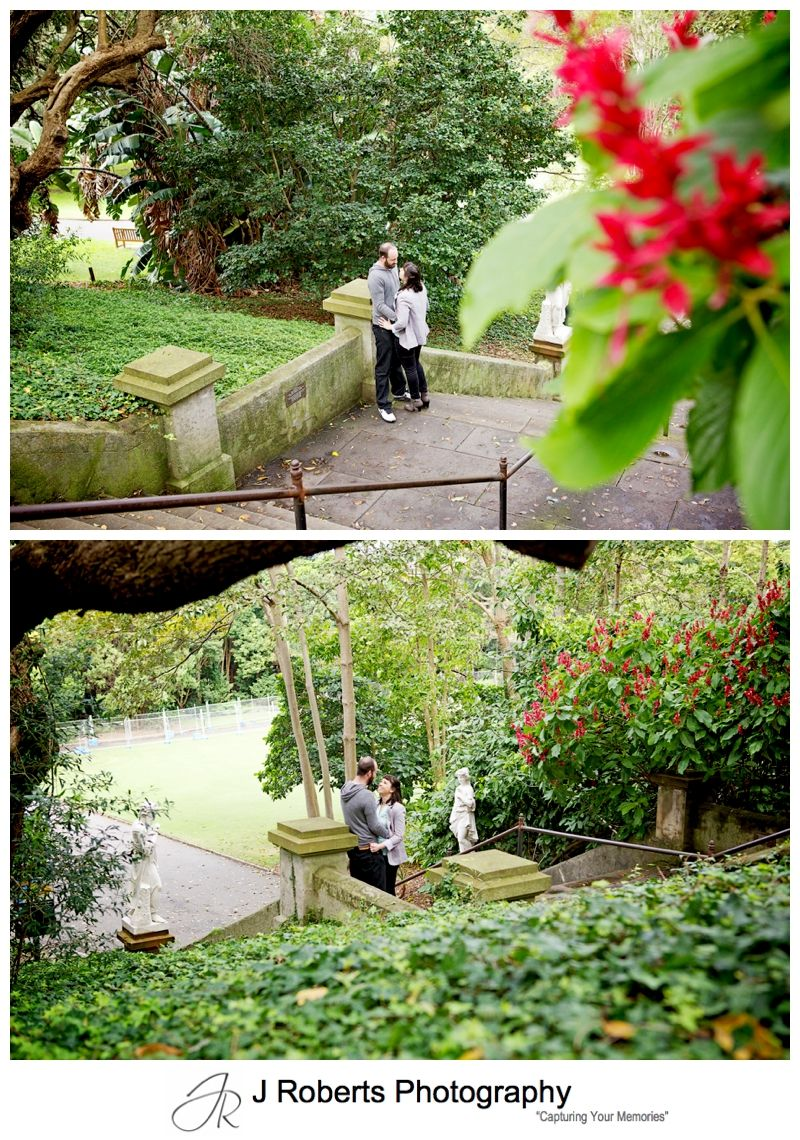 Engagement Portrait Photography Sydney Royal Botanic Gardens Sydney