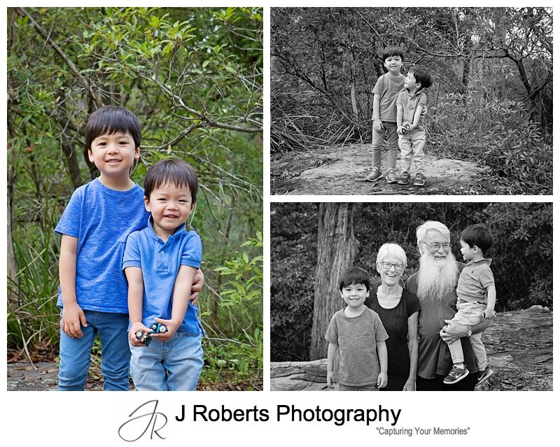 Extended Family Portrait Photography Sydney OH Reid Reserve Chatswood