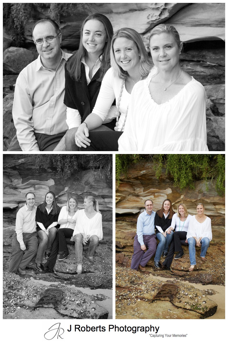 Adult siblings portrait - sydney family portrait photography