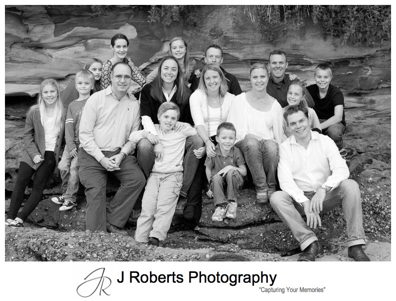 4 extended families - sydney family portrait photography