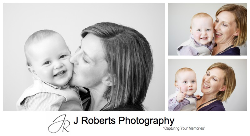 Little man with his Mummy - family portrait photography sydney