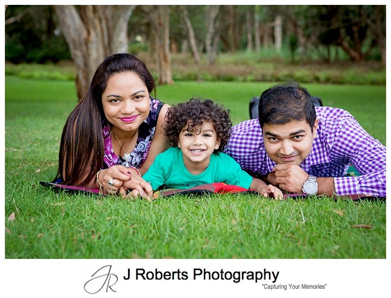 Family Portrait Photography Sydney Centennial Park with the Ducks