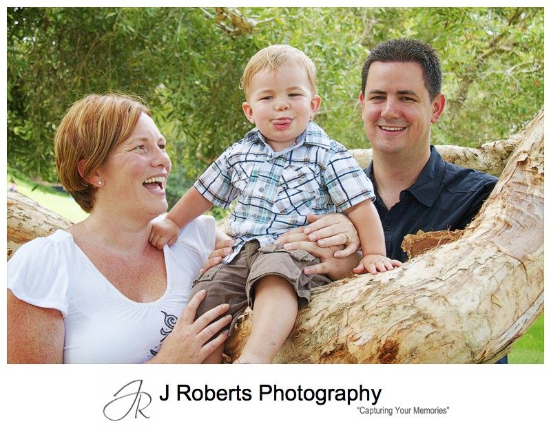 Family portrait with 18 month old boy - family portrait photography sydney