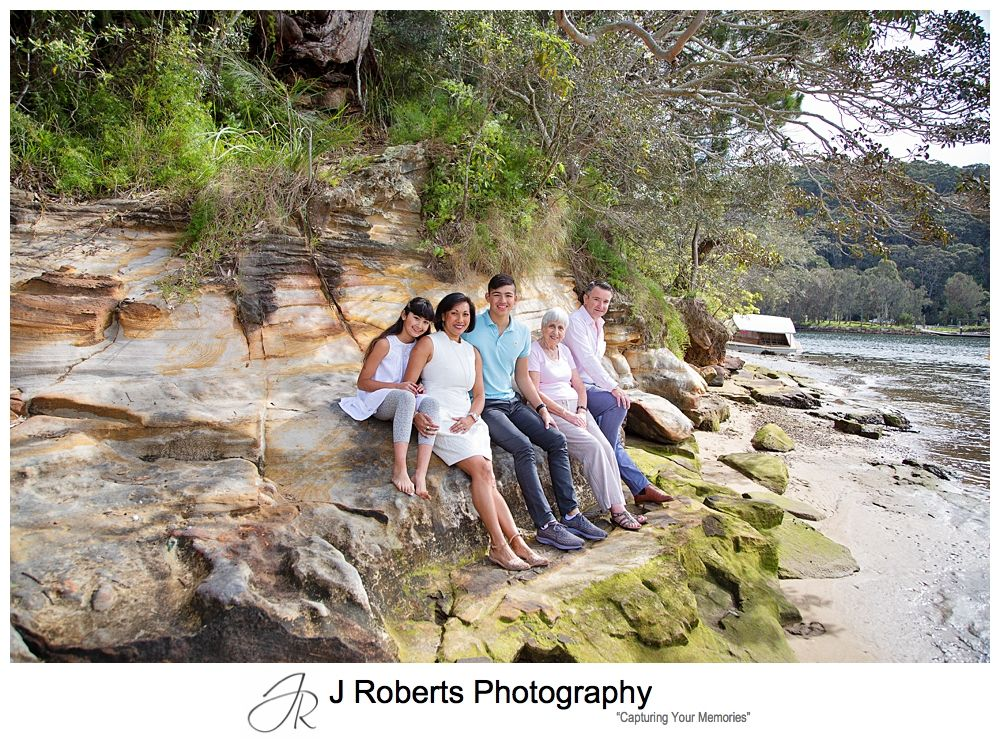 Family Portrait Photography Sydney Family Visiting from Overseas