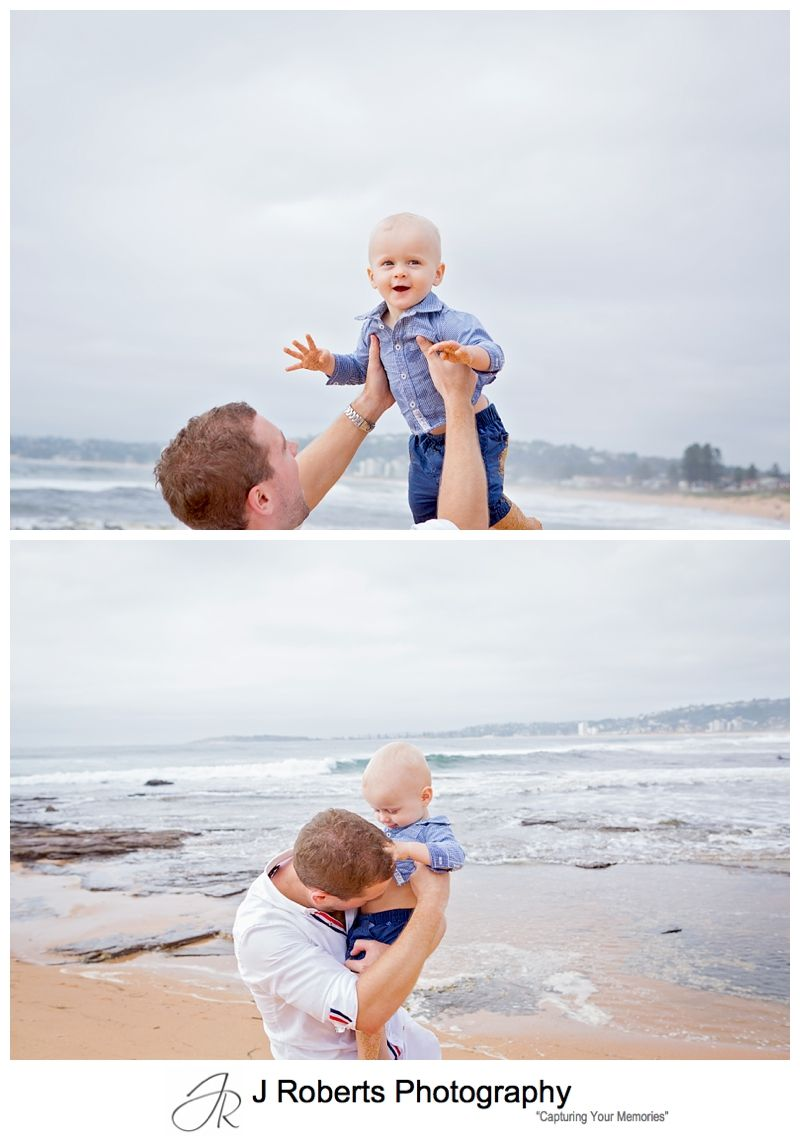 Family Portrait Photography Sydney North Narrabeen Rockpool Early Morning