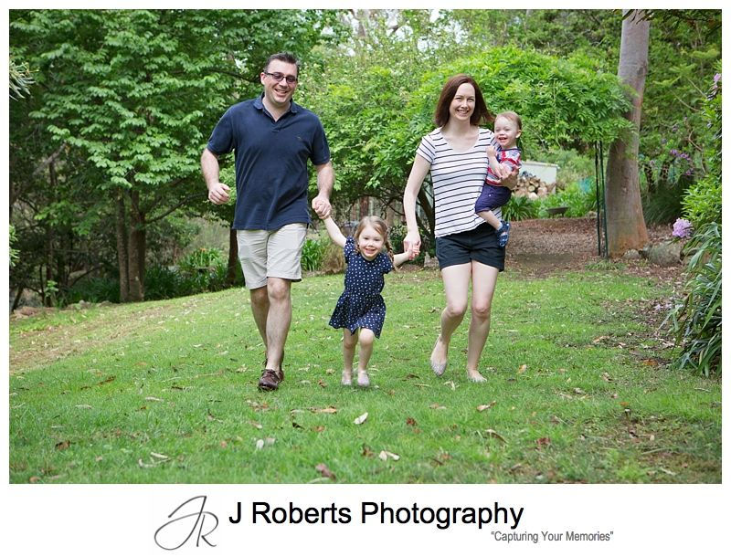 Family Portrait Photography Sydney on location in Family home North Turramurra House in the Bush