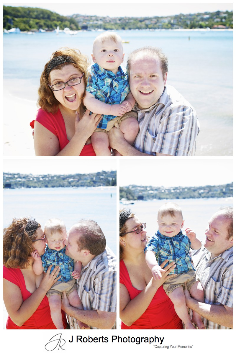 Family portraits at the beach sydney - sydney family portrait photographer