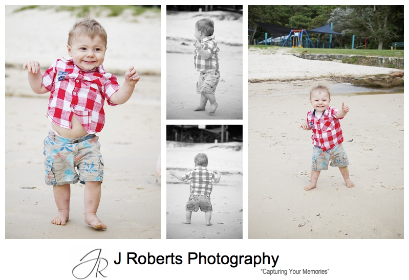 18 month old toddler just learned to walk portraits - sydney family portrait photographer