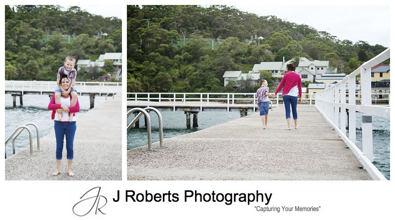 MOther and son having fun - sydney family portrait photographer