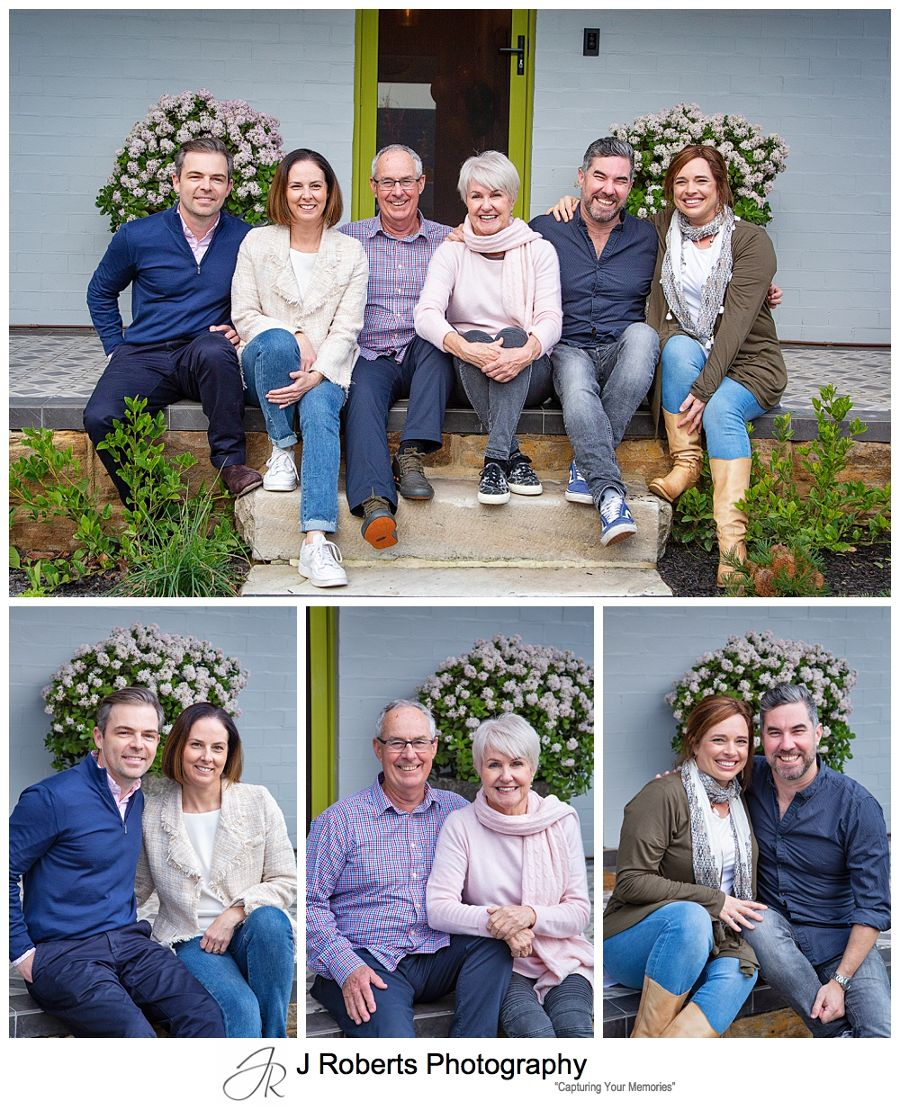 Family photographs for grandmothers birthday Greenwich