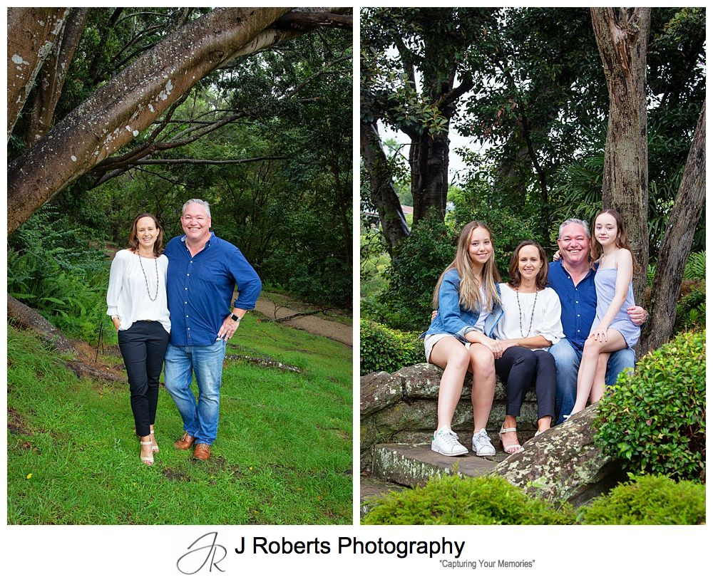 Family portrait photography sydney at Echo Point Reserve Roseville Chase