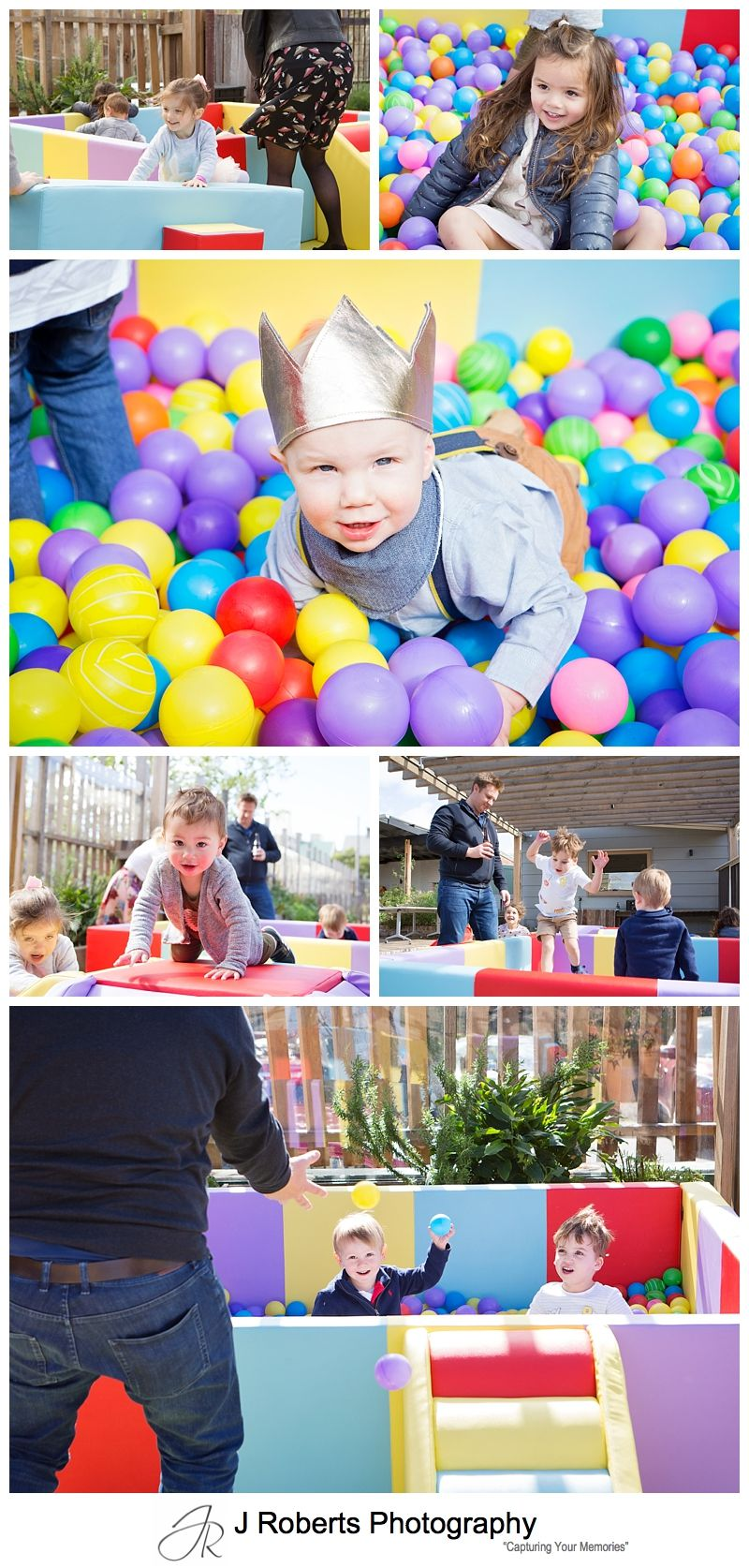 First Birthday Party Photography with Woodland Theme at The Commons Camperdown for Duke's 1st Birthday