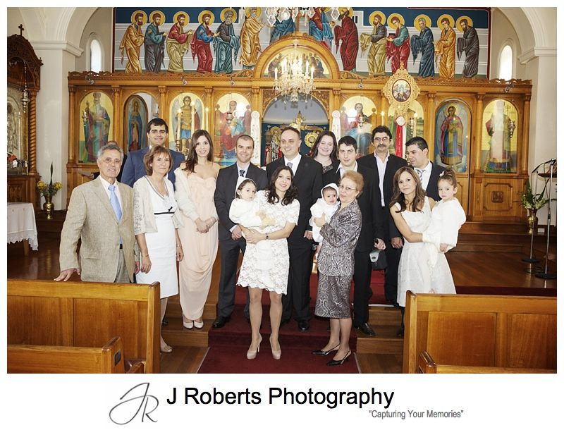 Greek Baptism Photography Sydney, Baptism at the Greek Orthodox Church Crows Nest, Sydney party Photography