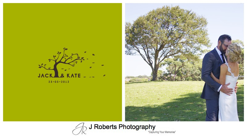 Wedding invitation and wedding photo compliment - wedding photography sydney