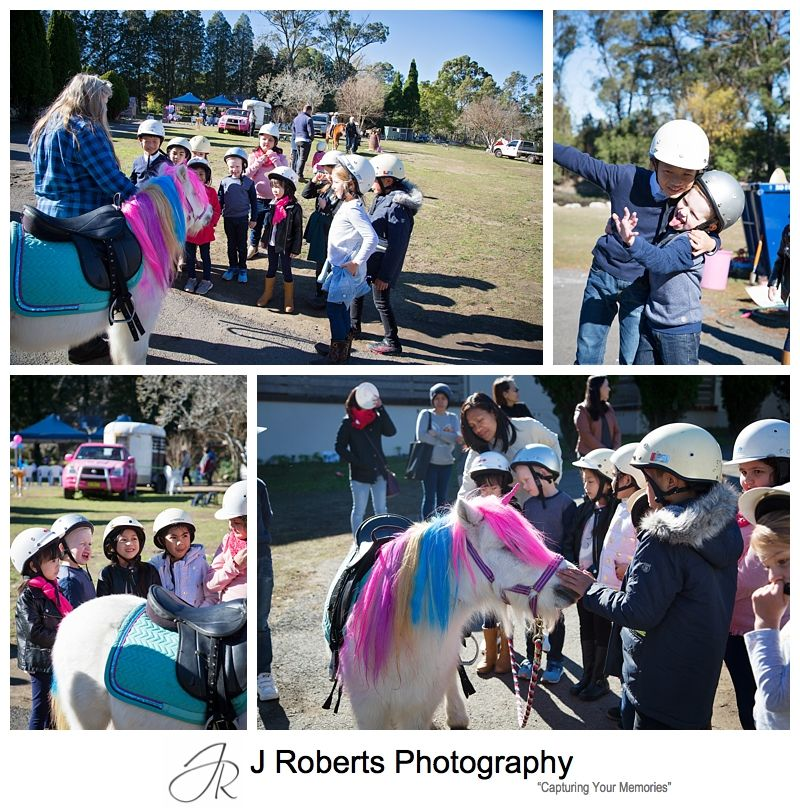 Julieanne's 7th Birthday Unicorn My Pony Party at Galston Gorge