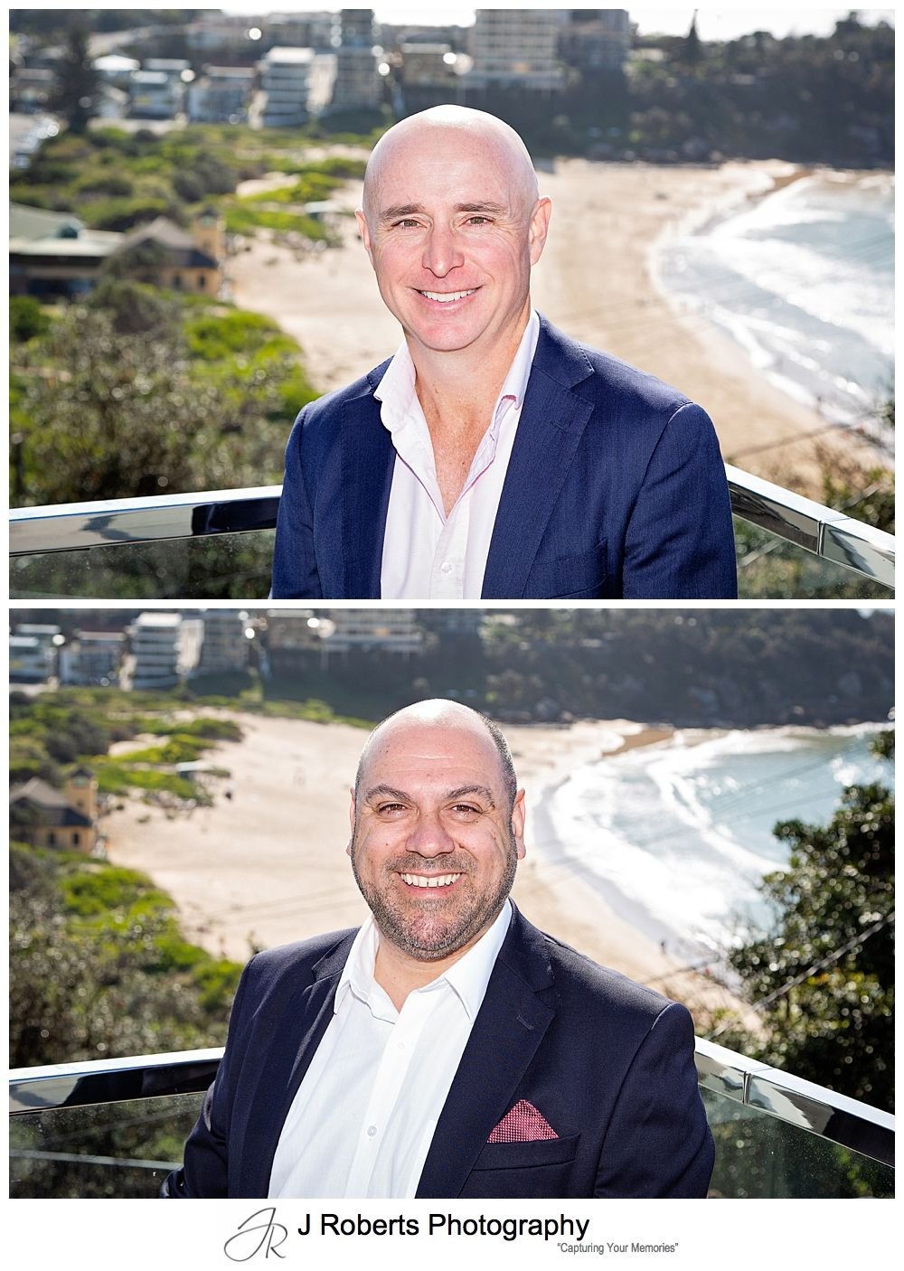 Mentor1 Corporate Headshots at Freshwater Beach Location