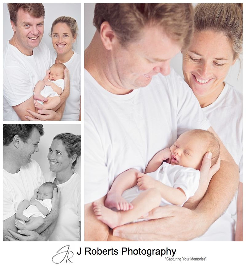 Newborn Baby Portrait Photography Sydney - Family Home Seaforth