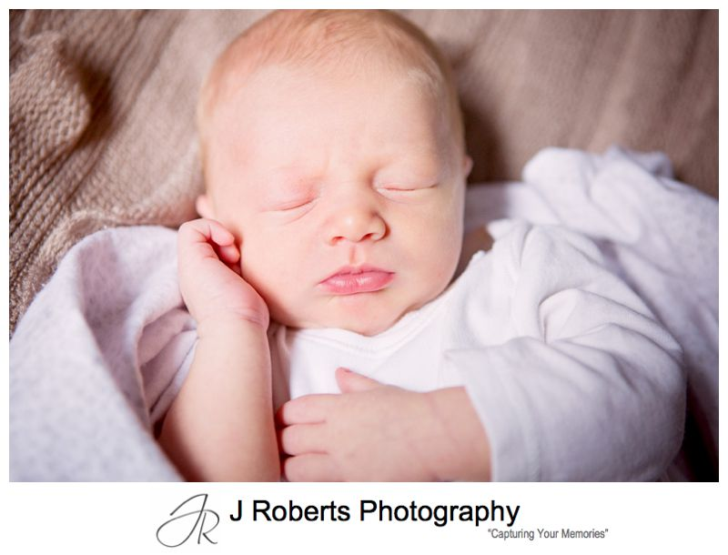 Newborn Baby Portrait Photography Sydney Gift Voucher Family Home Artarmon