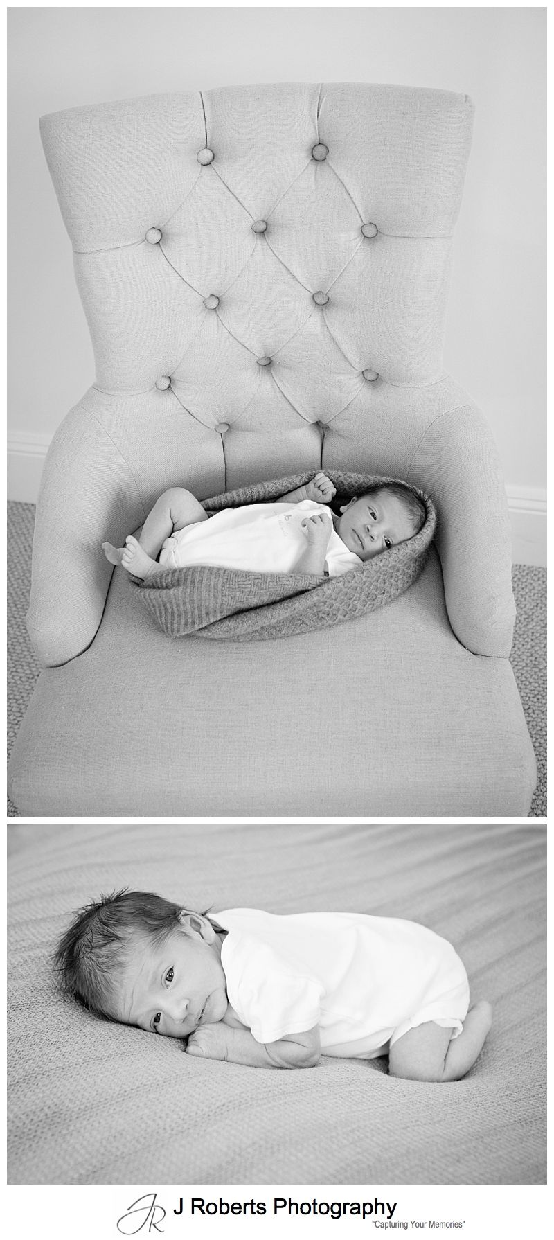 Newborn Baby Portrait Photography Sydney IN family home Baby girl 10 Days Old