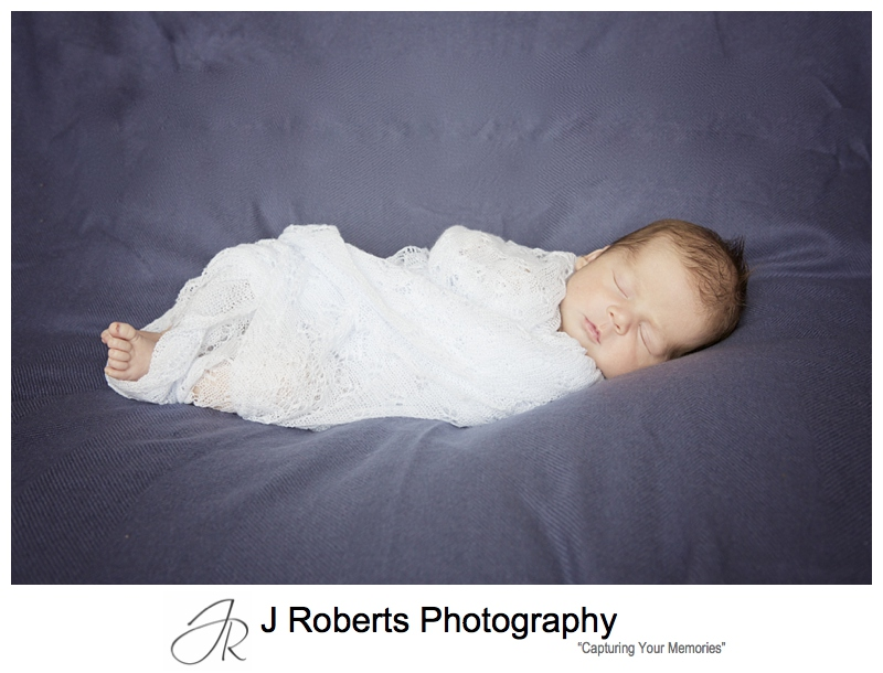 sydney Newborn baby portrait photography in the family home willoughby