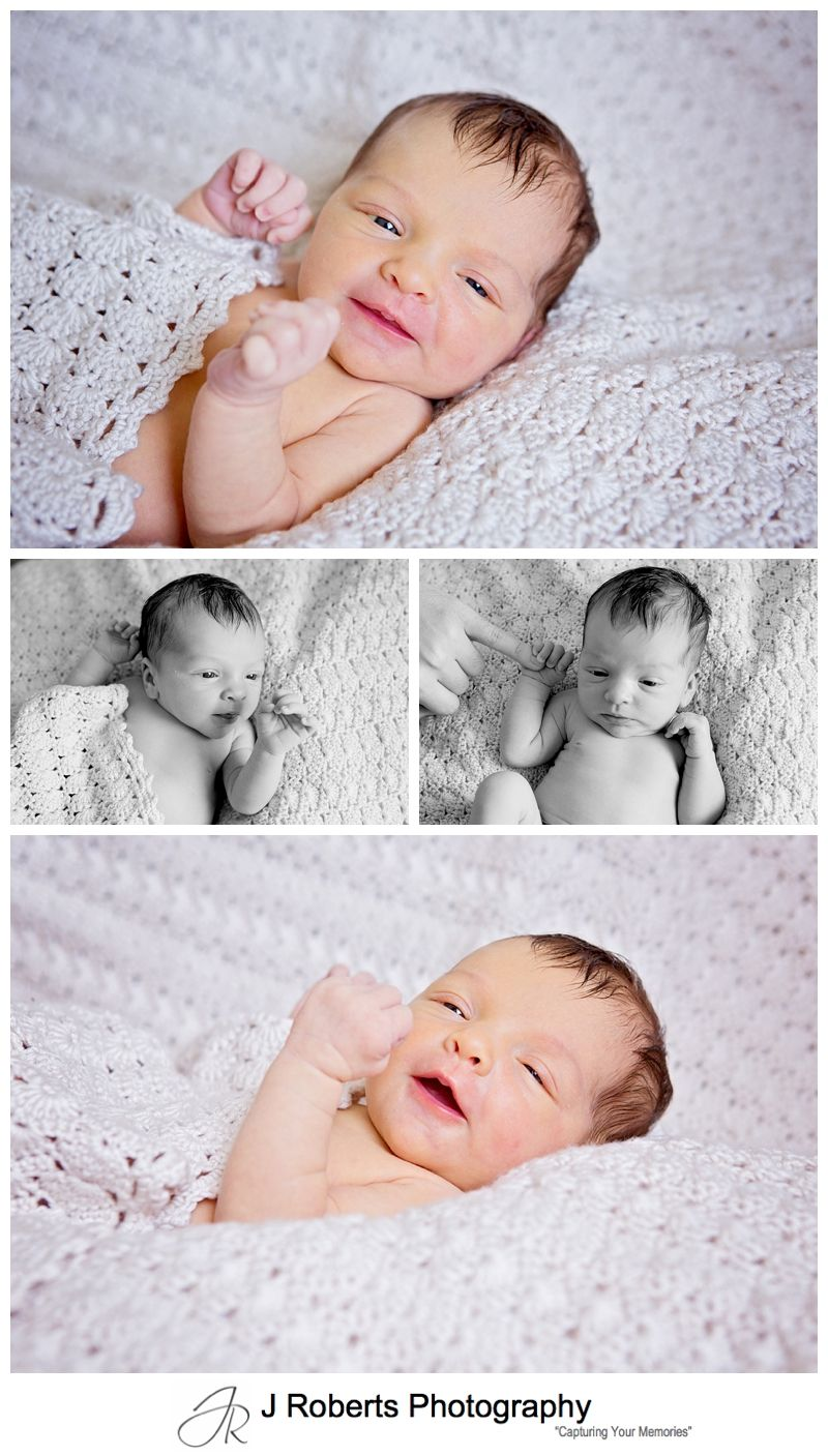 Newborn Baby Portrait Photography in the Family Home Sydney