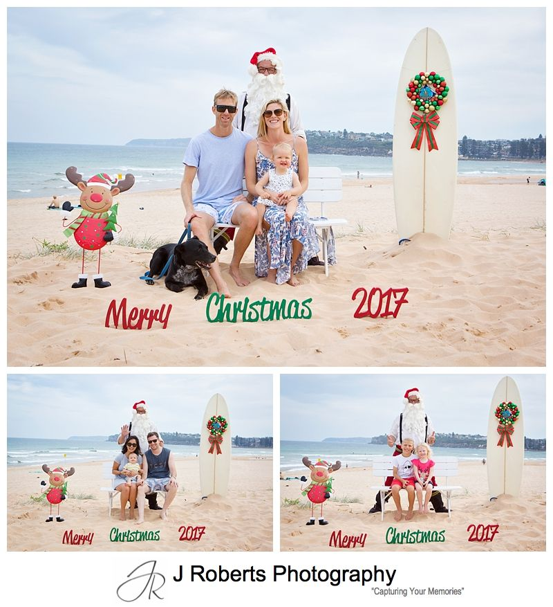 Northern Beaches Santa at the Beach with an Aussie Feel Long Reef Beach Sydney