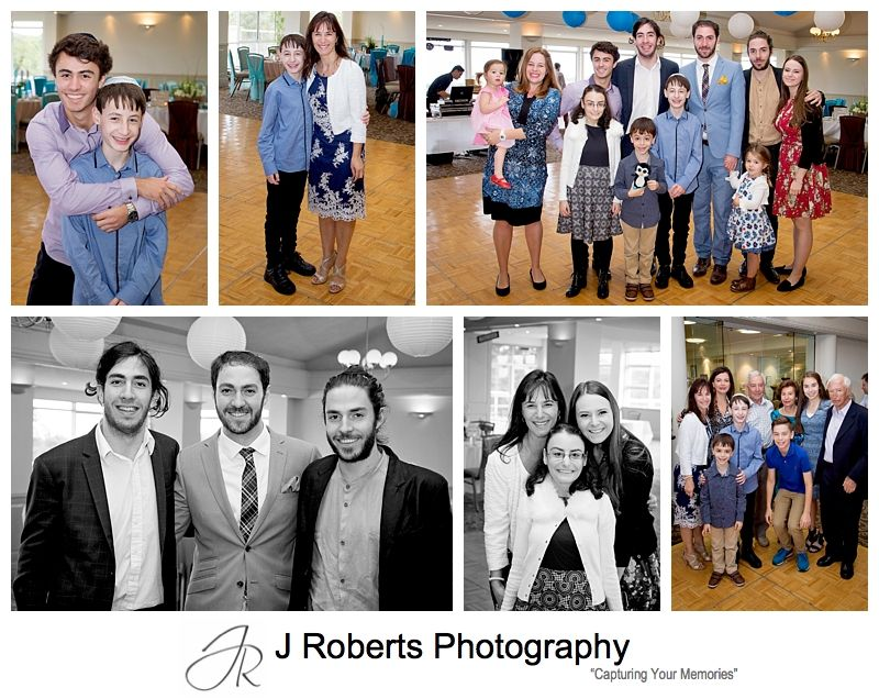 Party Photography Sydney Bar Mitzvah Celebrations Monash Country Club Ingleside