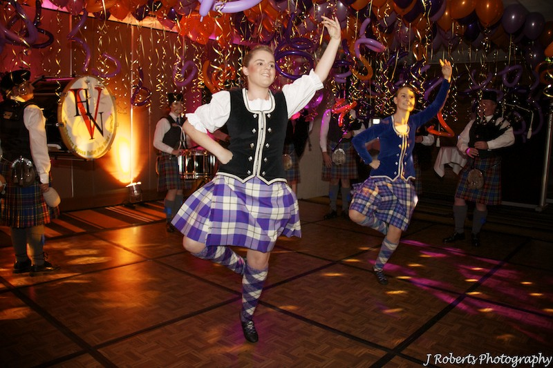 Highland dancers - party photography sydney