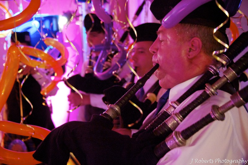 Pipe band - party photography sydney